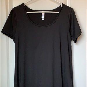 Black! LulaRoe classic t. Sz small
